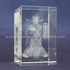 3D Laser Engraving K9 Crystal Blank Block