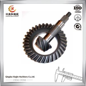 OEM CNC Machining Pinion Gear Housing Crown Gear Alloy Steel Gear Shaft pictures & photos