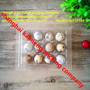 Transparent 12units Quail Egg Plastic Tray Philippines pictures & photos