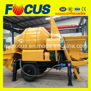 Jbt30 Mobile Concrete Mixer Pump for Sale pictures & photos
