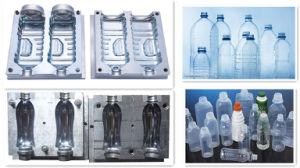 Multi Cavity 1000ml Cleanser Bottle Pet Blow Mold pictures & photos