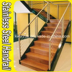 Indoor Staricase Railing System Stainless Steel Staircase Railing pictures & photos