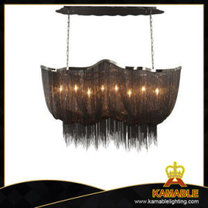 Big Black Chain Chandelier (KA107B) pictures & photos