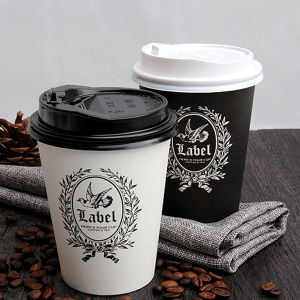 China Wholesale Paper Cups with Lids Reusable Coffee Cups pictures & photos