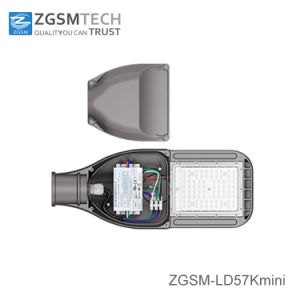 2018 New Mini LED Street Cobra Lamp for Area Lighting with Optical Sensor pictures & photos