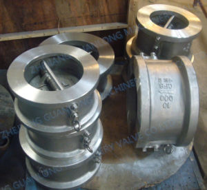 (H76X/H) Ddcv Double Disc Butterfly Swing Non Return Check Valve pictures & photos