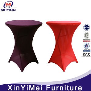 Hot Sale Spandex Colorful Table Cloth with Good Quality pictures & photos