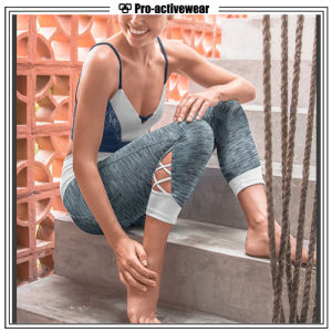 OEM Custom Woman Wholesale Printing Polyester Spandex Yoga Pants pictures & photos