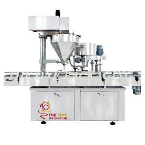 Automatic Powder Filler and Capper-Powder Filling and Capping Machine pictures & photos