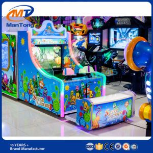Children′s Coin Operated Game Machine Shooting Water Game Double Players pictures & photos