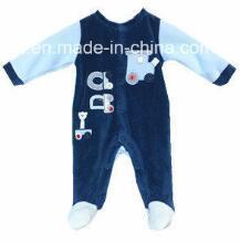 Polyester Velvet Romper for Infant pictures & photos