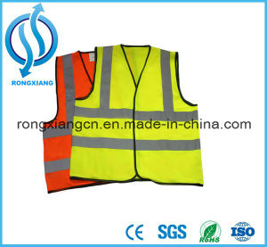 Safety Orange Coverall Polyester Workwear Safety Clothes with Pockets pictures & photos