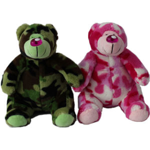 Plush Army Bear Soft Toy From China pictures & photos