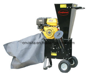 196cc 6.5HP Gasoline Wood Chipper, Garden Shredder, Wood Crusher pictures & photos