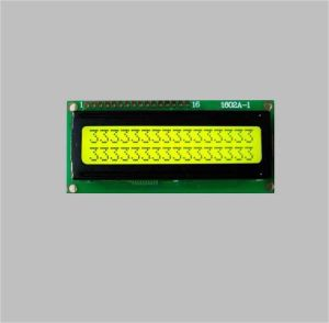 16X2 Character LCD Module Display Yellow Green Background pictures & photos