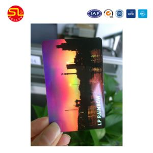 High Frequency RFID DESFire EV1 Chip Card with Uid Number pictures & photos