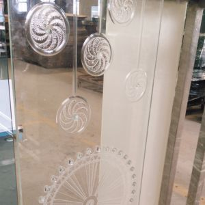 Decorative Engraving Pattern Glass for Furniture pictures & photos