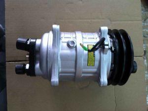 Sanden Type Auto Air Compressor pictures & photos