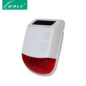Outdoor Solar Wireless Flashing Strobe Siren for Home Alarm pictures & photos