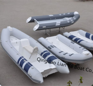 Liya 2.4m-5.2meter Open Deck Rib Boats Inflatable Dinghy Sale pictures & photos