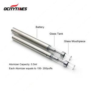 Trending Hot Productscbd Oil Vaporizer Pen Vape Ceramic Coil Empty Glass Tank E Cigarette pictures & photos
