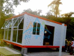 Hot Sale 20FT Prefab Luxury Living Container House Hotel Room in Philippines pictures & photos