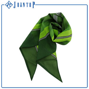 Hand Rolled Edge 100% Polyester Retro Custom Long Shawl Scarf pictures & photos