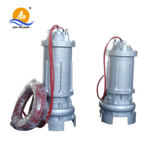 Electrical Centrifugal Non Clogging Submersible Wq Series Sewage Pump pictures & photos