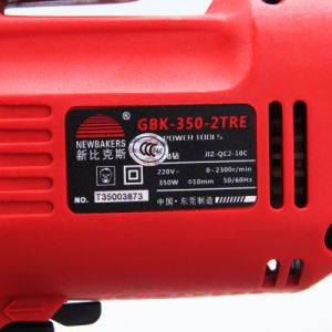 Electric Drill Power Tools Cord Drill (GBK-350-2TRE) pictures & photos