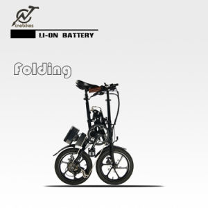 36V 250W Hub Motor Folded Electric Bike with Battery pictures & photos