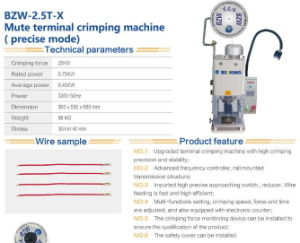 Mute Terminal Crimping Machine Prceise Mode pictures & photos