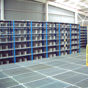 Warehouse Storage Multi Level Mezzanine Racking pictures & photos