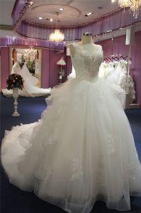 Elegant Beading Ball Bridal Princess Bridal Gown Wedding Dress pictures & photos