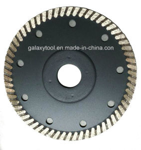 106mm Turbo Diamond Saw Blade for Porcelain Tiles pictures & photos