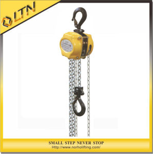 High Quality 3 Ton Chain Pulley Block with CE&TUV&GS Certification pictures & photos