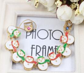 Christmas Jewelry/Christmas Bracelet/Christmas Snowman (XBL13140) pictures & photos