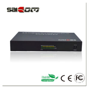 100/1000Mbps 15.4W 1GE+8FE Ports Fast Ethernet Network POE Switch pictures & photos