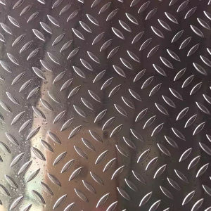 Embossed Aluminium Sheet for Bus/Truck Floor pictures & photos