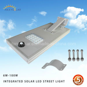 China All in One LED 12W Solar Street Light with Camera Solar Battery Light pictures & photos