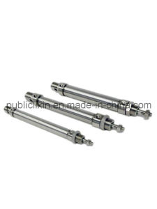 Stainless Steel Mini Cylinder (Double Acting & Single Acting) Airtac Type pictures & photos