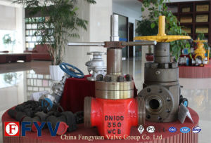 API 6D Gas Flat Gate Valve for Petroleum Natural Gas pictures & photos