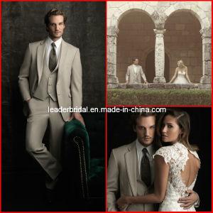 Men Suits Wedding Wear Fashion Groom Suit Tuxedo Pant Coat Vest Sld15 pictures & photos