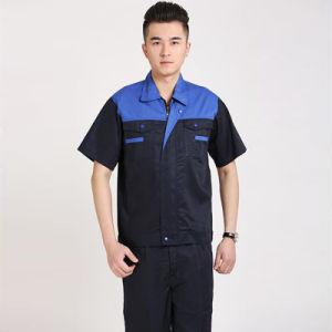 OEM Short Sleeve Uniform Work Clothes Cleaner Work Uniform pictures & photos