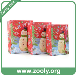 New Design Snowman Christmas Paper Box pictures & photos