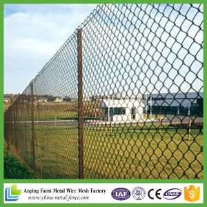 5X5cm Opening Black PVC Coated Chain Mesh Fence pictures & photos