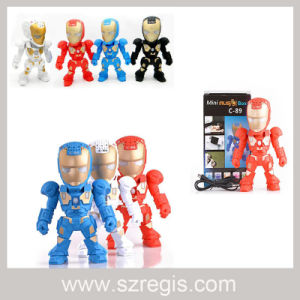 Creative Iron Man Portable Wireless Bluetooth Speaker pictures & photos
