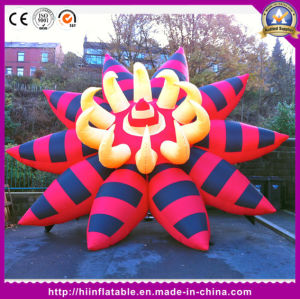 Hot Festival Party Decoration Painting Inflatable Ground Flower pictures & photos