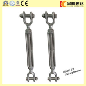 Us Type Galvanized Drop Forged Jaw and Jaw Turnbuckle Rigging pictures & photos