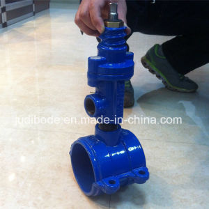 Saddle for PVC Pipe Ductile Iron pictures & photos