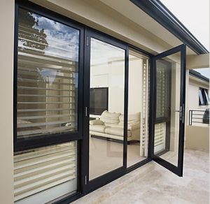Aluminium Center Pivot Door pictures & photos